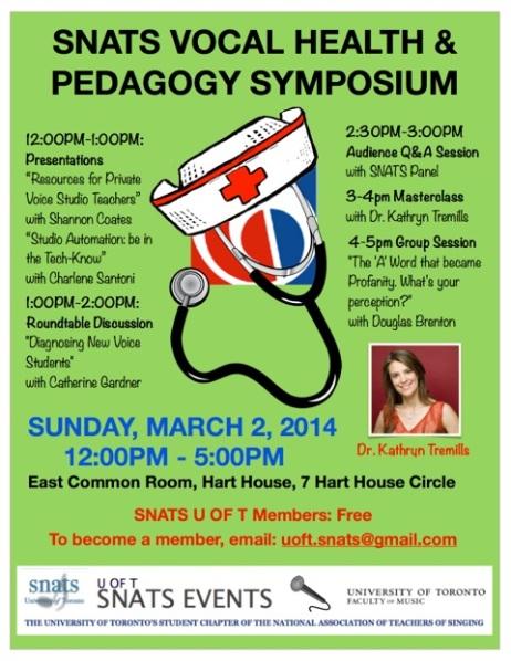 SNATS Symposium 2014 - FINAL